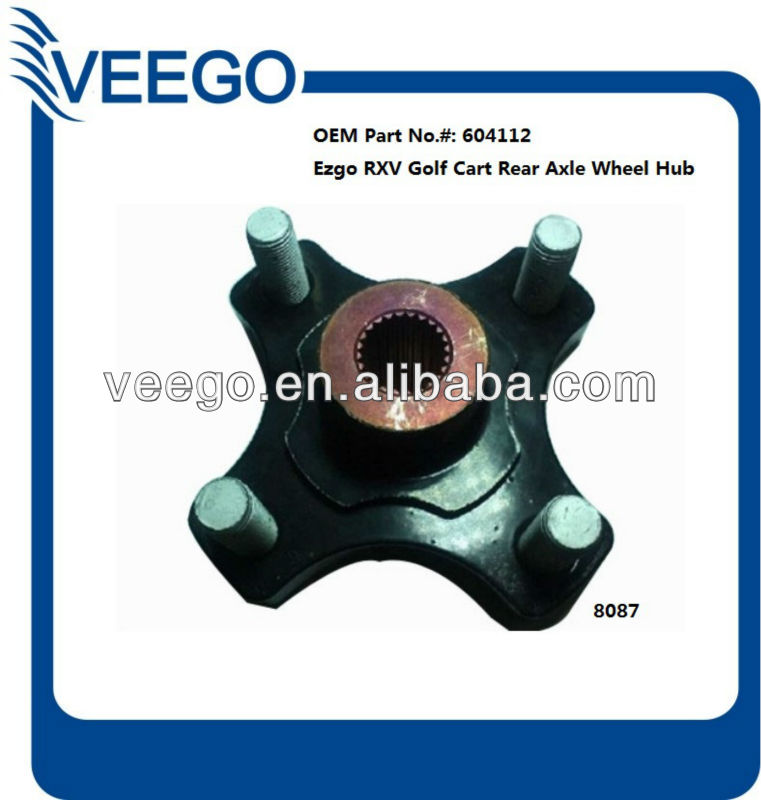 Golf Cart Parts Ezgo Rxv Golf Cart Rear Axle Wheel Hub 604112 / 8087 Golf Cart Hub on car hubs, golf car parts product, yamaha hubs, atv hubs, wheel hubs,