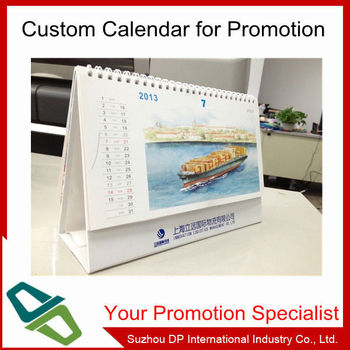 Hot selling personalize 2014 Islam desk calendar