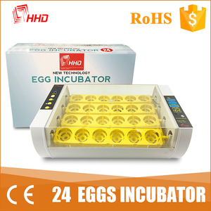 HHD 98% hatching rate egg incubator price in india/incubator machine price YZ-24A