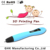 New popular design VP02 3d drawing pen for student 3D pen with free 4colors PCL filament