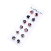 Latest Trendy Design Crystal Eye Hijab Pins Costume Brooch Wholesale Bulk Brooch For Women