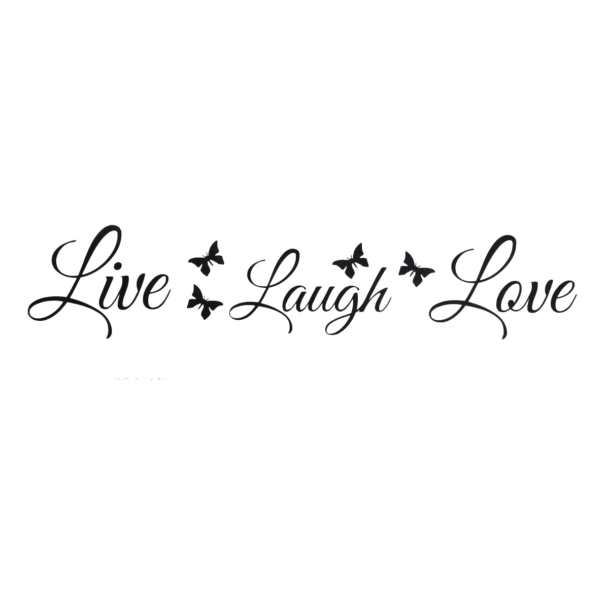 Wall Stickers Family Quotes Pin Love Live Laugh On Pinterest