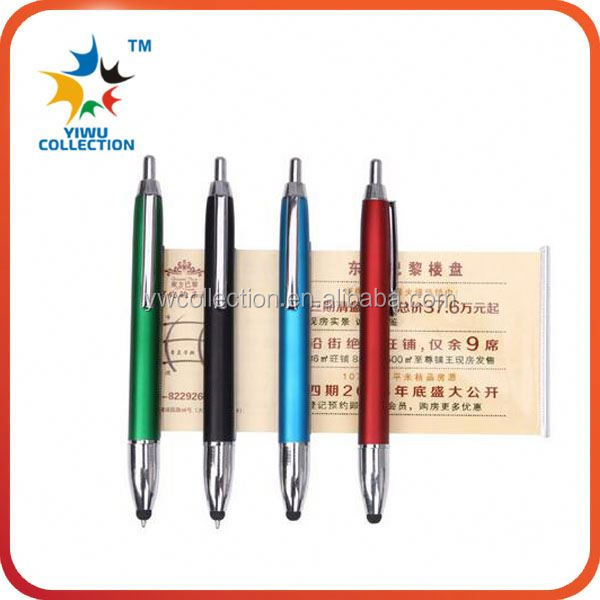wholesale plastic pen parts big ballpoint pen case