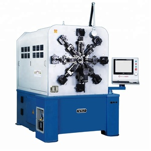 WNJ Manufacturer CNC Spring Forming Machine with Fast Speed
