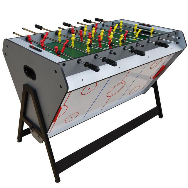 Factory Wholesale 3 In 1 Multi Game Tables Indoor Sports Air Hockey ,  Soccer , Pool