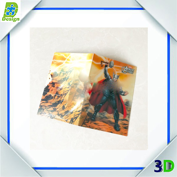 OEM design Lenticular Printing Plastic PP/PET/PVC 3D fridge magnet for different countries
