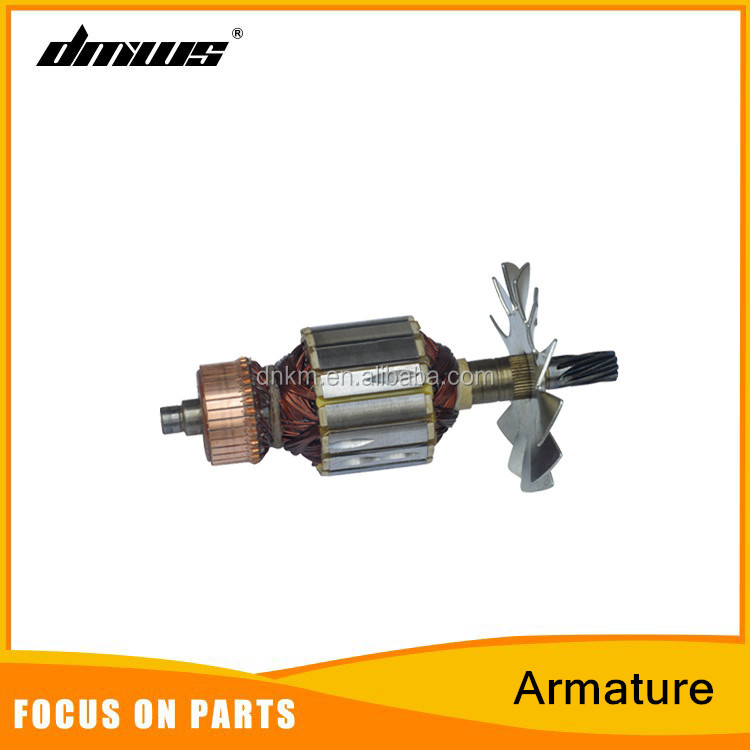 Power Tools Electric Chsinsaw Spare Parts Armature