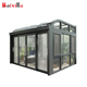 New design portable curved glass prefabricated sunrooms