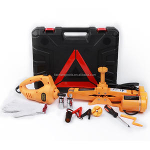 Hot Sale CE ISO 3 Ton Electric Scissor Car Floor Jack 12V ROGTZ All-in-one Automatic and Impact Wrench Quick Repair Tools Sets