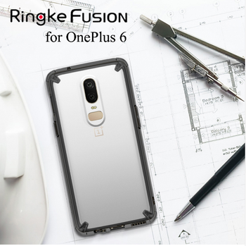 huge selection of 06ad7 66adf Ringke Fusion X For Oneplus 6 Heavy Duty Drop Protection Pc Clear Back  Cover And Soft Tpu Frame Hybrid Case For Oneplus 6 - Buy Ringke Fusion X  For ...