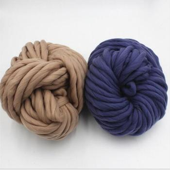 Wholesale Multiple Color Chunky Gaint Merino Thick Fabric Felt Hand
