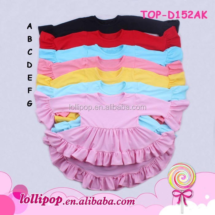 Unique baby girl names images princess smocked flutter sleeve tunic dress party wholesale swing tunic tops matching