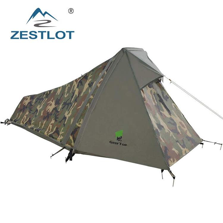 b8d788f6b ... camping barraca de Reconhecimento. 0 vendidos. 1 pessoa tecido de lona de  camuflagem militar tenda à prova d  água