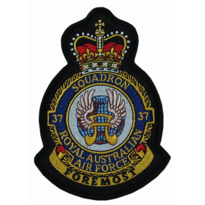 37 Squadron Embroidered Crest Badge Patch MOD Approved