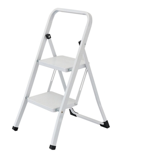 2 Steps Folding Stainless Steel Foldable Scaffold Ladder, Stainless Steel Household Step Ladder Made in China Ly-SL01