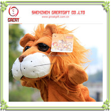 Lion Hand Puppets ventriloquist puppets kids puppet for sale