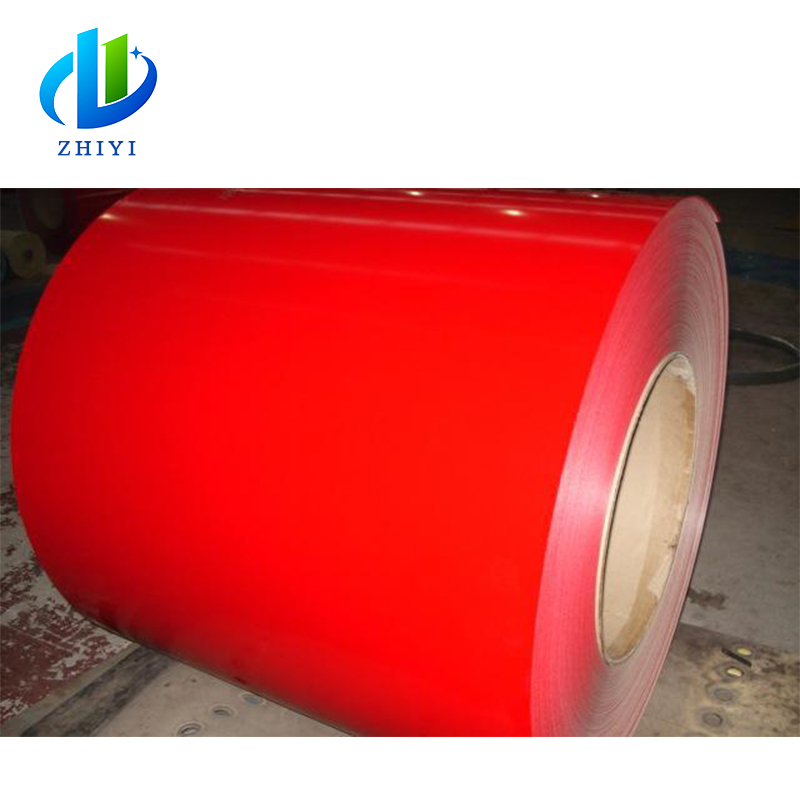 Bright Color Pre-painted Galvanized Coils 0.5mm 0.6mm 0.7mm Customized Requirements Tianjin Steel Coil