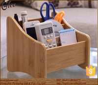 small fancy wooden storage box on desk
