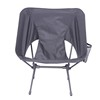 Gray beach chair outdoor chair folding camping chair wholesale for hiking