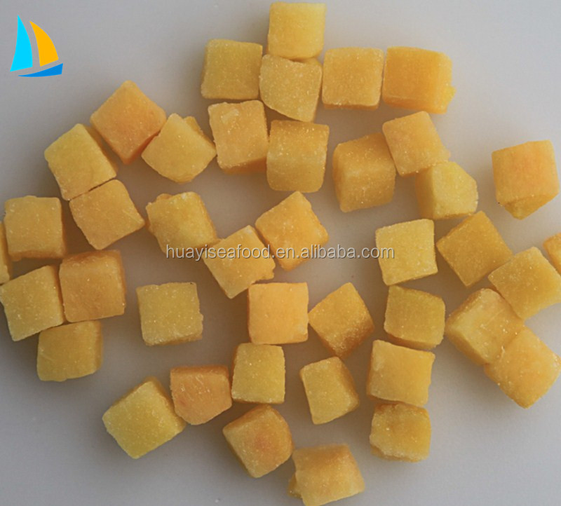 Wholesale Organic fresh Frozen iqf Yellow Peach with factory price