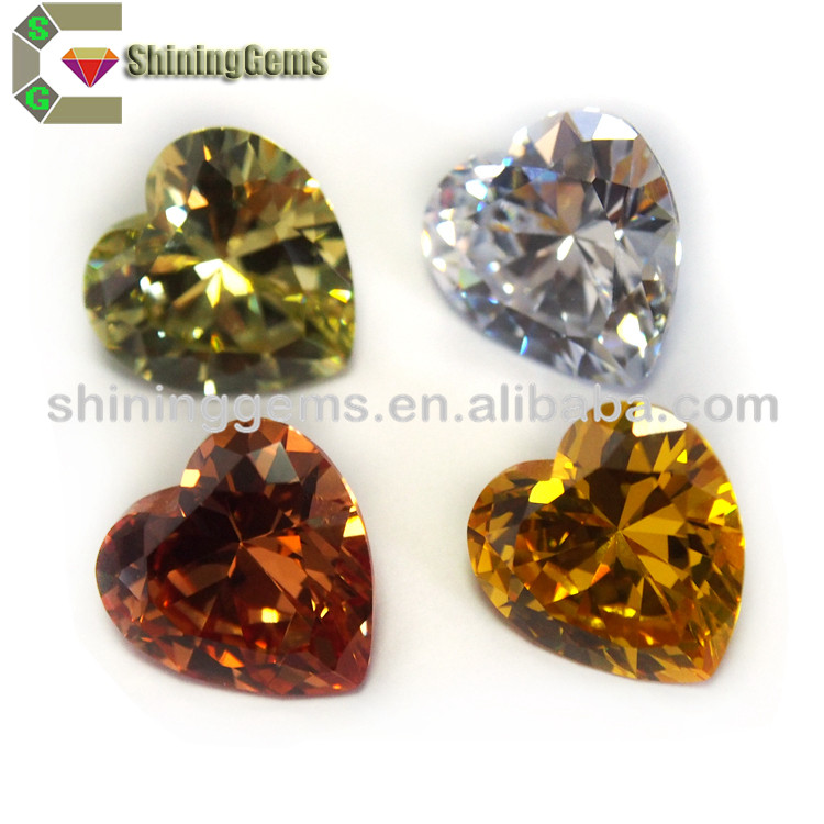 China manufacturer loose cz gemstone wholesales