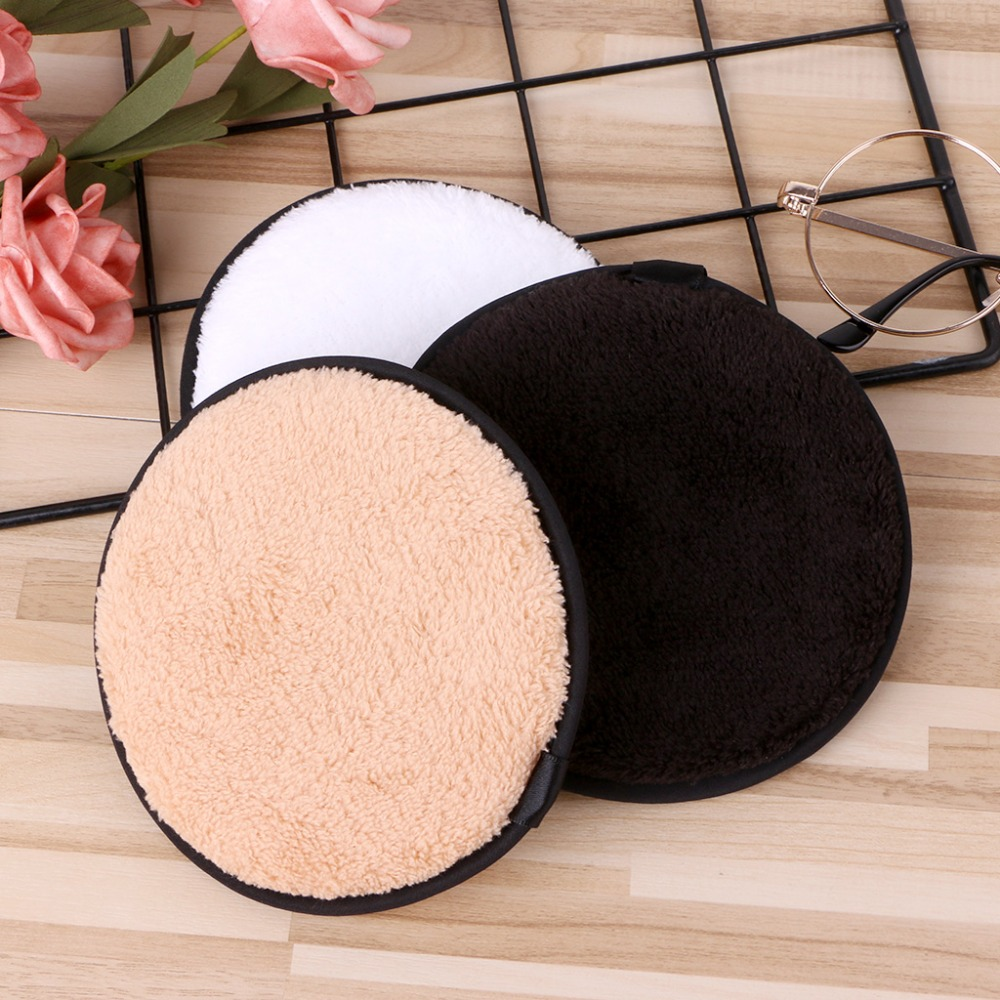 makeup remover pads puff microfiber makeup remover private label organic makeup remover