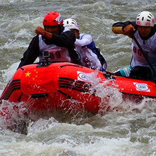 commercial grade inflatable boats for yushu world cup rafting
