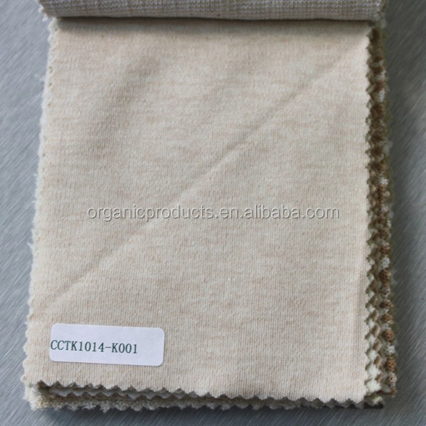 Wholesale Gots Certification 100% Organic Cotton Interlock Fabric for Baby Clothes