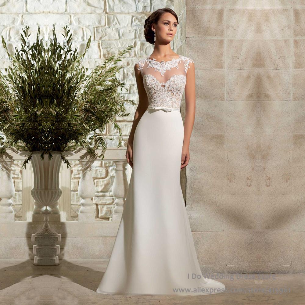 9a077c3b89 aliexpresscom buy vestidos de novia 2015 new fashionable summer lace sexy beach  wedding dresses a line