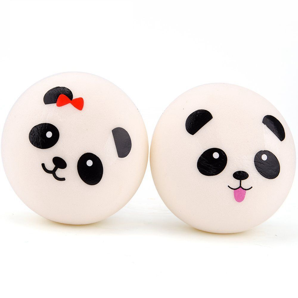 Luggage & Bags High Quality 7cm Kawaii Jumbo Panda Squishy Charms Buns Bread Cell Phone Key/bag Strap Pendant Squishes Bag Accessories To Enjoy High Reputation In The International Market