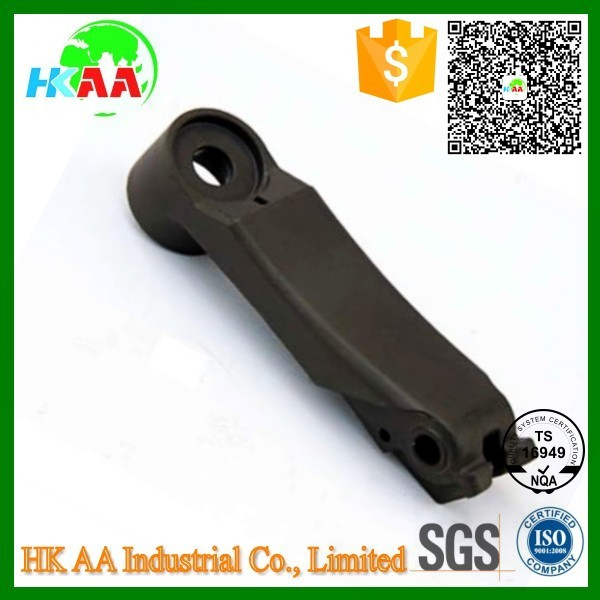 TS16949 Approved CNC Milled Precision Anodized CNC Aluminum handle lever