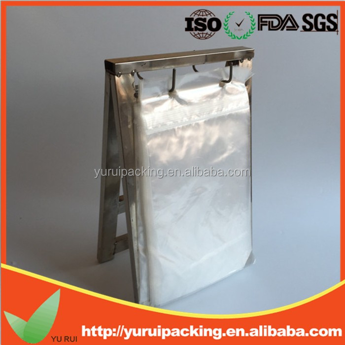 HDPE disposable deli sandwich saddle bag with flip top (Manufacturer)