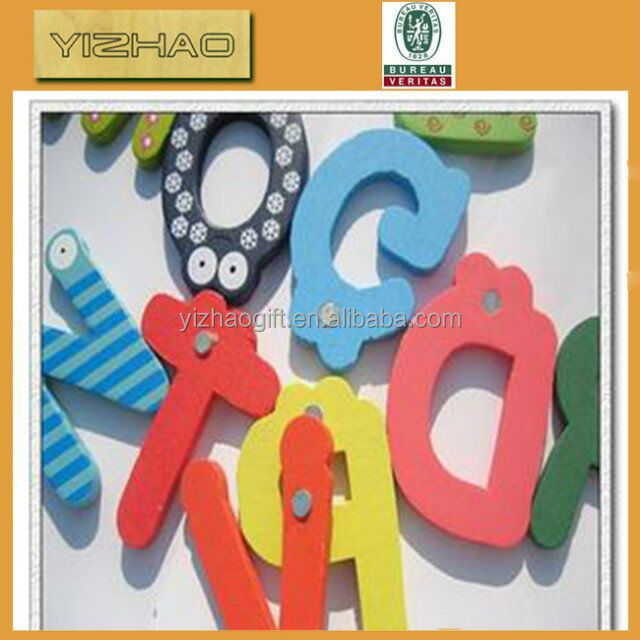 Different style Wooden letters custom Wooden crafts with Various sizes
