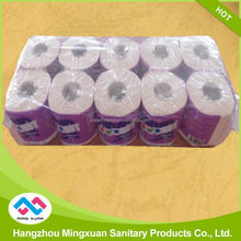 Decorative Recycling White Toilet Tissue Paper Rolls