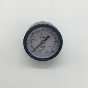 Tube Bourdon Pressure Difference Gauge Bar PSI