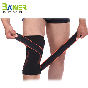 New design Removable knee wraps/knee belt/knee bandage