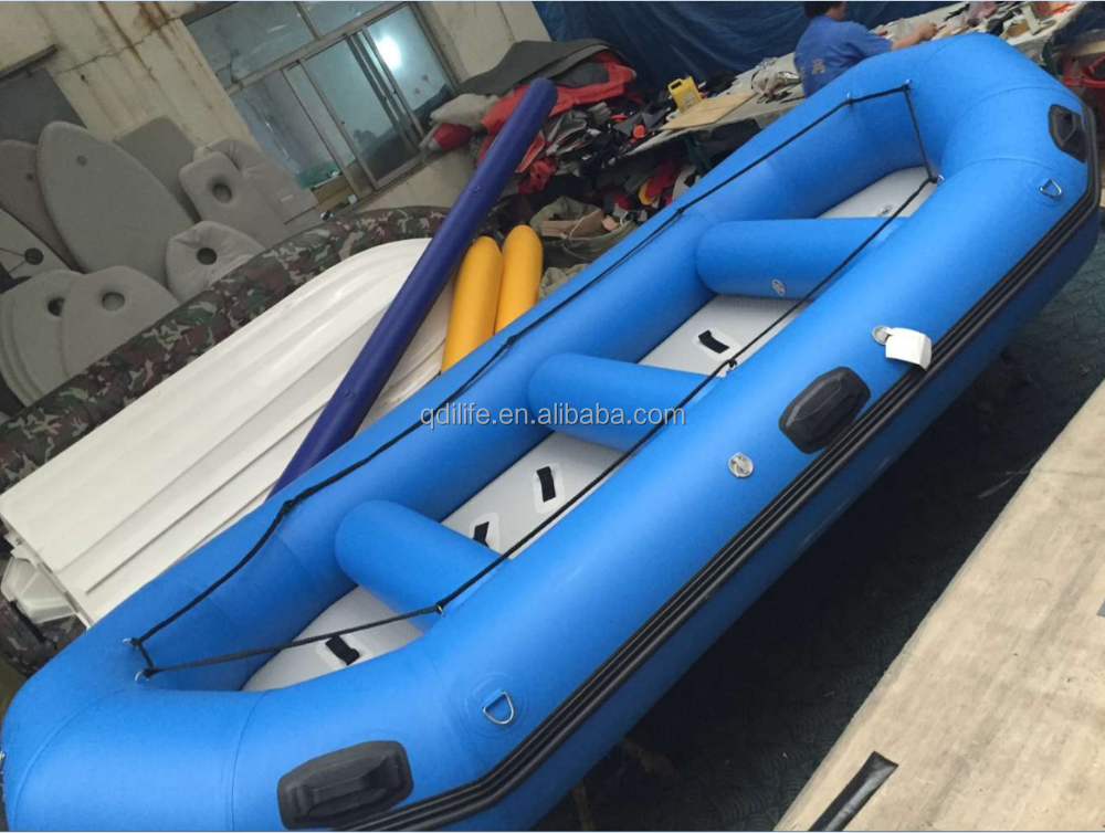 4.3m High quality inflatable river boat used life boats for sale