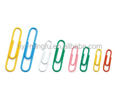 good price office supplies 50mm vinyl metal paper clip