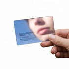 Plastic card facktory price mirror business card Gold gift cards
