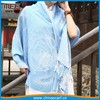 light blue casual wear travel pashmina tricot scarf