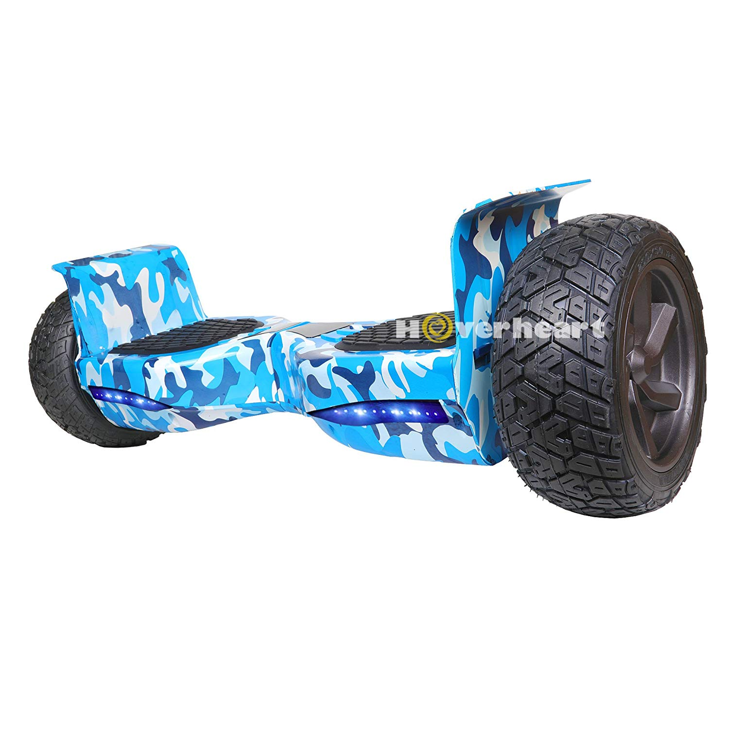 "HOVERHEART Hoverboard 8.5"" Two-Wheel Metal Self Balancing All-Terrain Alloy Wheel Electric Scooter UL 2272 Certified"