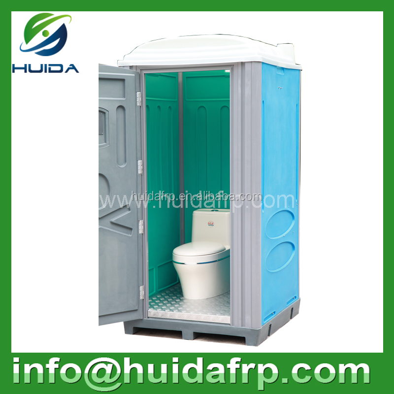 Factory wholesale New style high quality squat style plastic mobile toilet and shower