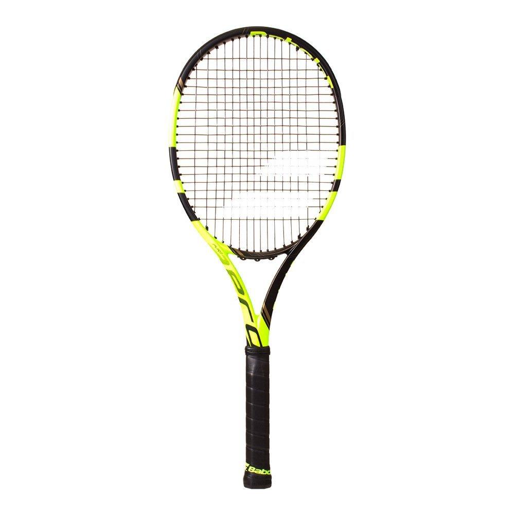 Babolat Pure Aero VS Tennis Racquet, Black/Yellow