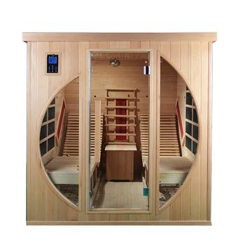 Fine Hemlock Far Infrared Sauna Room With Lounge Chair Buy Sauna Room Infrared Far Infrared Sauna Room Hemlock Sauna Room Infrared Product On Alibaba Com Machost Co Dining Chair Design Ideas Machostcouk