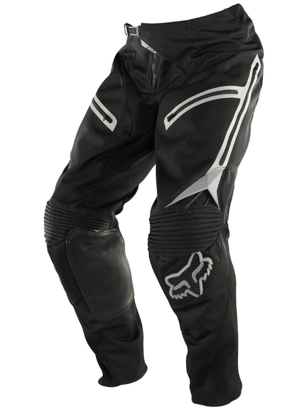Fox Racing Legion Men's Off-Road Motorcycle Pants - Black/Grey / 38