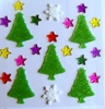 Hot sale christmas gel clings stickers