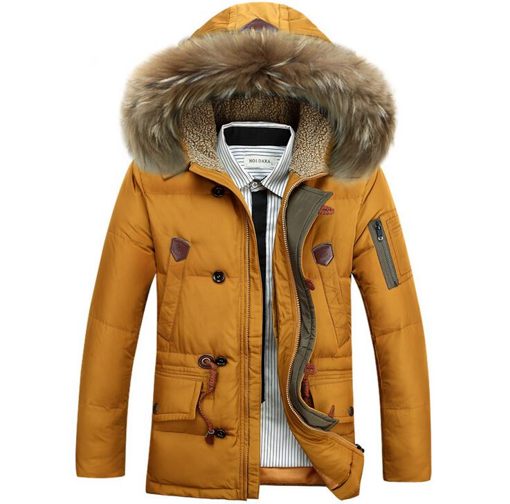 walson Hot fashion business style men's thick short down jackets men coats outerwears