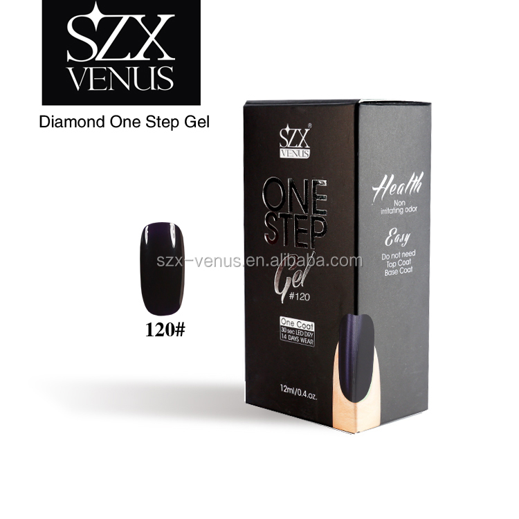 SZXvenus One Step Gel Peel Off Nail Polish Soak Off UV Gel Nail Polish