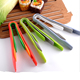 Coloured Salad Serving Tongs Plastic Kitchen Food Servers