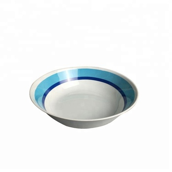 Factory Direct Wholesales Price Custom Print Melamine Soup Bowl